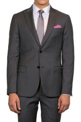 Cole Peak Lapel Jacket Grey
