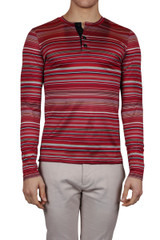 Floriano Luxe Henley Red
