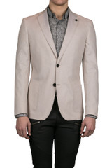 Patos Patch Pocket Blazer Natural