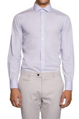 Natal Cut Away Collar Shirt Lilac