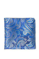 Dirk Paisley Pocket Square