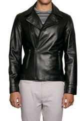 Lyle Leather Biker Jacket