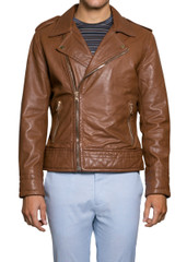 Catete Leather Biker Jacket