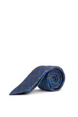 Brent Paisley Tie Blue/Green