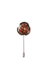 Cory Metal Lapel Pin Rose Gold