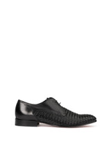 Tony Weave Lace Up Shoe Black