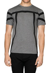 Rick Utility Strap Tee Charcoal