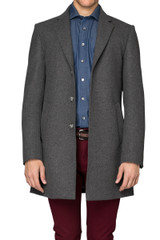 Duke Fitted Coat Grey