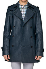Trae Coated Trench Coat