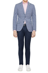 Nik Window Pane Blazer