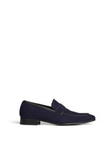 Lockey Suede Loafer Navy