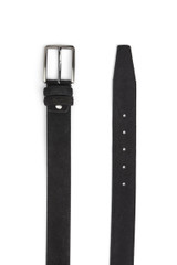 Jerome Suede Belt Black