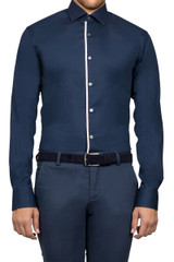 Lazarus Bound Shirt Navy Pink
