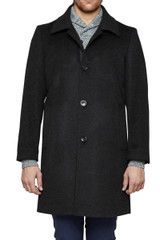 Kris Mac Coat Charcoal