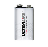 Ultralife U9VL-J-P 9 Volt Lithium Battery