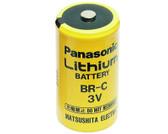 Panasonic BR-C Battery - 3V Lithium C Cell