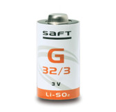 Saft G32/3 - G32/3.4 Battery - 3V Lithium 2/3 A Cell