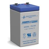 4 Volt 4.5 Ah Battery - Rhino SLA4.5-4 Sealed Lead Acid Rechargeable