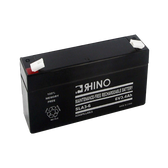 6 Volt 3.4 Ah Battery - Rhino SLA3-6 Sealed Lead Acid Rechargeable