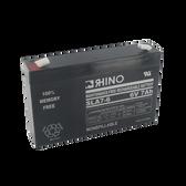 6 Volt 7.0 Ah Battery - Rhino SLA7-6 Sealed Lead Acid Rechargeable
