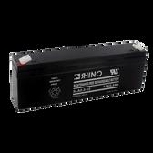12 Volt 2.2 Ah Battery - Rhino SLA2.2-12 Sealed Lead Acid Rechargeable