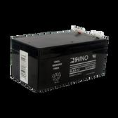 12 Volt 3.4 Ah Battery - Rhino SLA3-12 Sealed Lead Acid Rechargeable