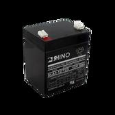 12 Volt 5.0 Ah Battery - Rhino SLA5-12/T25 Sealed Lead Acid Rechargeable