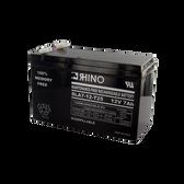 12 Volt 7.0 Ah Battery-Rhino SLA7-12-T25 Sealed Lead Acid Rechargeable