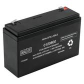 Dual-Lite 0120800 - 12-800 Battery