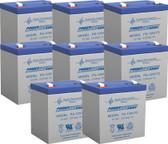 Dell APC Smart-UPS DLA3000RMT2U Backup Battery - 12 Volt 5.0 Ah