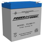Sure-Lites 26-04 / SL-26-04 Battery - Cooper Emergency Lighting