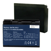 Acer BATBL50L6 Laptop Battery - 11.1V 4400mAh 49WH 6 Cell Li-Ion Notebook Replacement