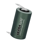 Ultralife UB10018 Battery - 3V Lithium C Cell with Solder Tabs