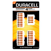 Duracell Size 13 Hearing Aid Batteries (32 Pack)
