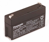 Panasonic LC-R061R3PU Battery - 6V 1.3Ah Sealed Rechargeable