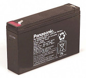 Panasonic LC-R067R2P Battery - 6V 7.2Ah Sealed Rechargeable