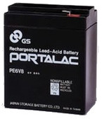 GS Portalac PE6V8 Battery - 6V 8.0Ah Sealed Rechargeable, Replacement Batteries for PE-6V8F1, PE6V8F1, PS-682, PS-682F, PS682, PS682F