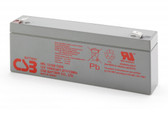 CSB HRL1210W F2FR Battery - 12V 2.4Ah 10W/Cell Sealed Rechargeable, Replacement Batteries for HRL 1210W, HRL1210W, HRL1210W F2, HRL1210W F2R2, HRL1210WF2, HRL1210WF2R2
