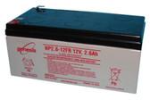 Genesis Yuasa NP2.6-12FR Battery - 12V 2.6Ah Sealed Rechargeable