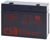 CSB HC1217W Battery - 12V 4.5Ah 17W/Cell Sealed Rechargeable, Replacement Batteries for HC 1217W, HC1217W