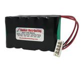 Burdick (Quinton, Siemens, Spacelabs) Atria 3000, 3100, 6000, 6100, 8300, 8500, (92700) (146-0126-00, 146-0127-00) (146-0131-00) Battery