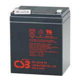 CSB HR1221W F2 Battery - 12V 5.1Ah 21W/Cell Sealed Rechargeable