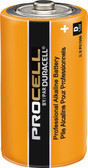 Duracell D Cell Procell Industrial Battery - PC1300 Batteries