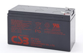 CSB GP1272 F2 Battery - 12V 7.2Ah Sealed Rechargeable, Replacement Batteroes for GP1272, GP1272F2