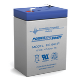 Gruber Power GPS4.5-6 Battery Replacement for Emergency Light, Exit Sign