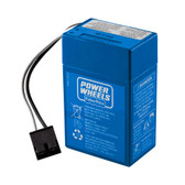 Fisher Price Power Wheels P6828 6 Volt Battery