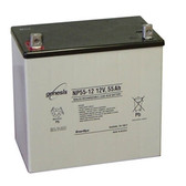 Genesis Yuasa NP55-12 Battery - 12V 55.0Ah Sealed Rechargeable, Replacement Batteries for DM55-12, DM55-12FR, PS-12550U