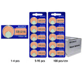 Sony CR1216 Battery - 3V Lithium Coin Cell