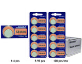 Sony CR1616 Battery - 3V Lithium Coin Cell