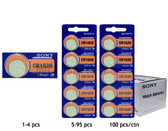 Sony CR1620 Battery - 3V Lithium Coin Cell
